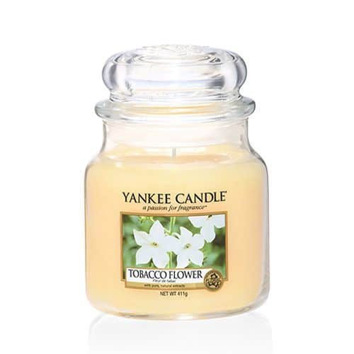 Yankee Candle - Tobacco Flower Medium Jar